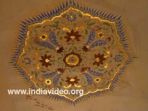 Paintings at Amber Palace, Jaipur