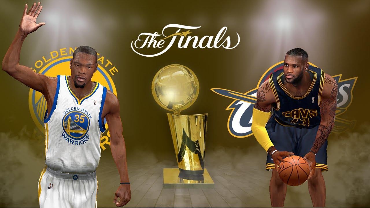 NBA 2K14 PC 2017 Updated Rosters │WARRIORS vs CAVS Durant vs LeBron HD - YouTube