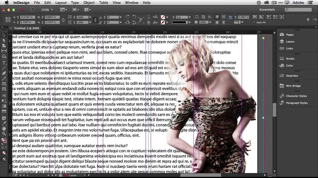 how to getstarted with adobe indesign cc 10 things beginners want to know how to do youtube
