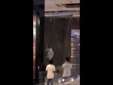 Ceiling collapse at Muscat Grand Mall