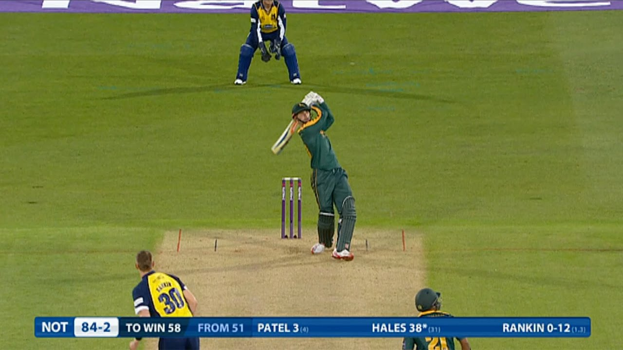 Alex Hales hits six sixes! Highlights Notts Outlaws v Birmingham Bears