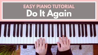 Do It Again - Elevation Worship (Easy Piano Tutorial)