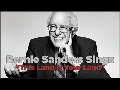 """Bernie Sings """"This Land Is Your Land"""" With 12 Year Old Rapper BERNIEBOY"""