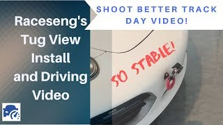 Improve your trackday video quality - Raceseng Tug View Combo - Tow hook
