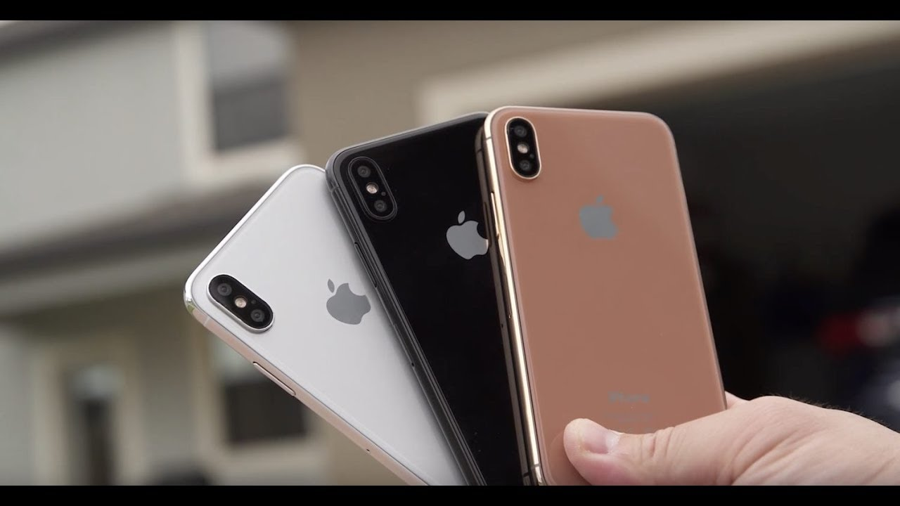 """Apple iPhone 8 to be offered in """"Blush Gold""""?"""