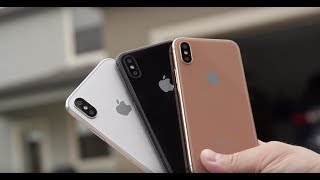 iPhone 8 New Copper Blush Gold Color is UGLY | Android O Release Date