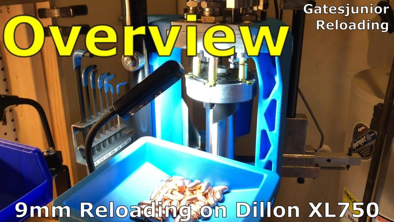 9mm Reloading on Dillon XL750