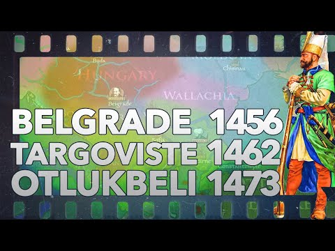 Siege of Belgrade 1456, Battles of Targoviste 1462 and Otlukbeli 1473 DOCUMENTARY