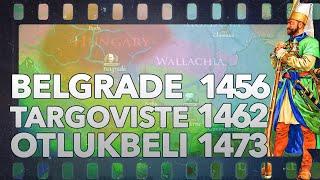 Siege of Belgrade 1456, Battles of Targoviste 1462 & Otlukbeli 1473 DOCUMENTARY