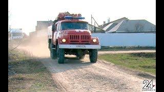 Из-за поджога старой травы в Альметьевском районе уже произошло 5 крупных пожаров