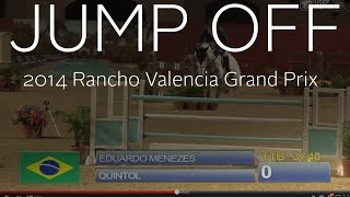 Jump Off: Rancho Valencia CSI-W Grand Prix