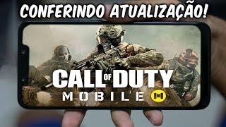 CALL OF DUTY MOBILE CONFERINDO ATUALIZAÇÃO