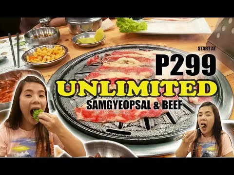 Unlimited Authentic Samgyeopsal in Quezon City