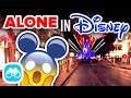 ALONE at DISNEY AFTER HOURS in the Magic Kingdom! - Disney Vlog #9