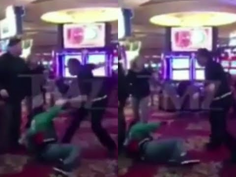 Rap icon Flavor Flav Gets Beat Down In Las Vegas Casino...