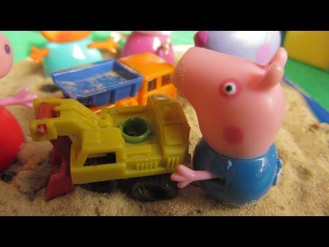 Свинка Пеппа и ремонт дороги