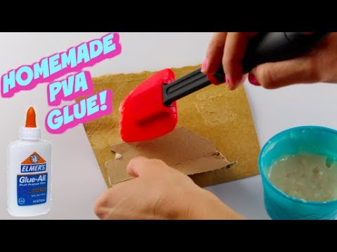 How to make homemade glue that works for slime without pva powder