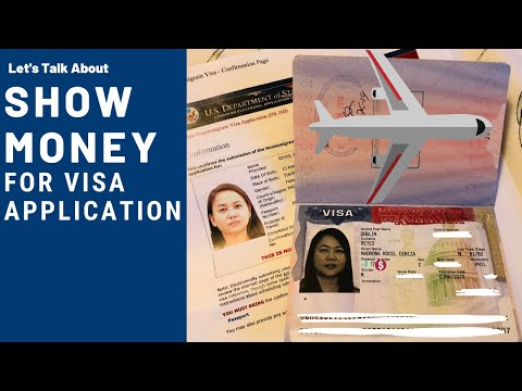 Let's Talk About Show Money For Visa Application