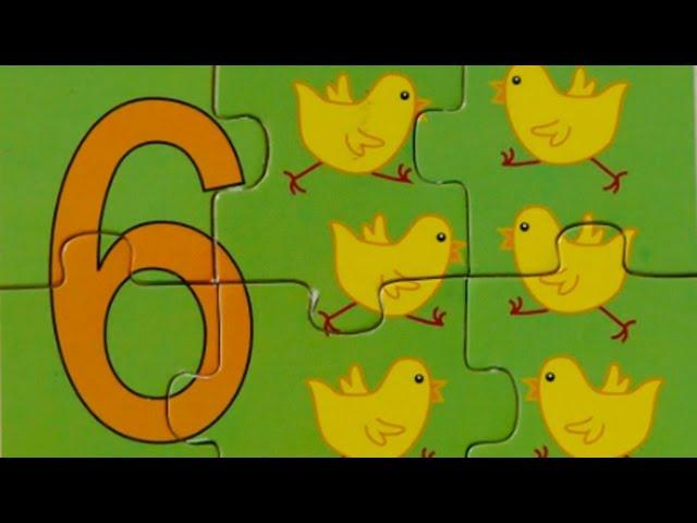 Учимся Считать - Цифра 6