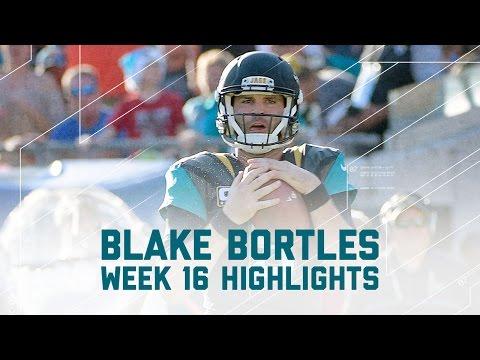 Blake Bortles Breaks Loose with 325 Yards! | Titans vs. Jaguars | NFL Week 16 Player Highlights