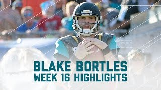 Blake Bortles Breaks Loose with 325 Yards! | Titans vs. Jaguars | NFL Week 16 Player Highlights