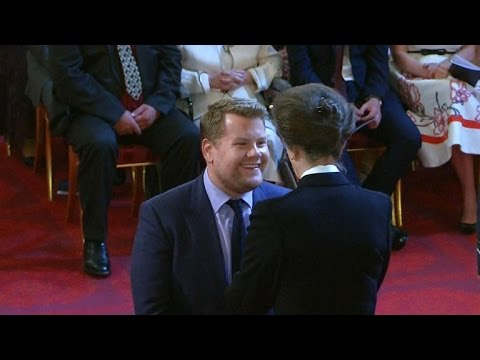 James Corden honored by Buckingham Palace