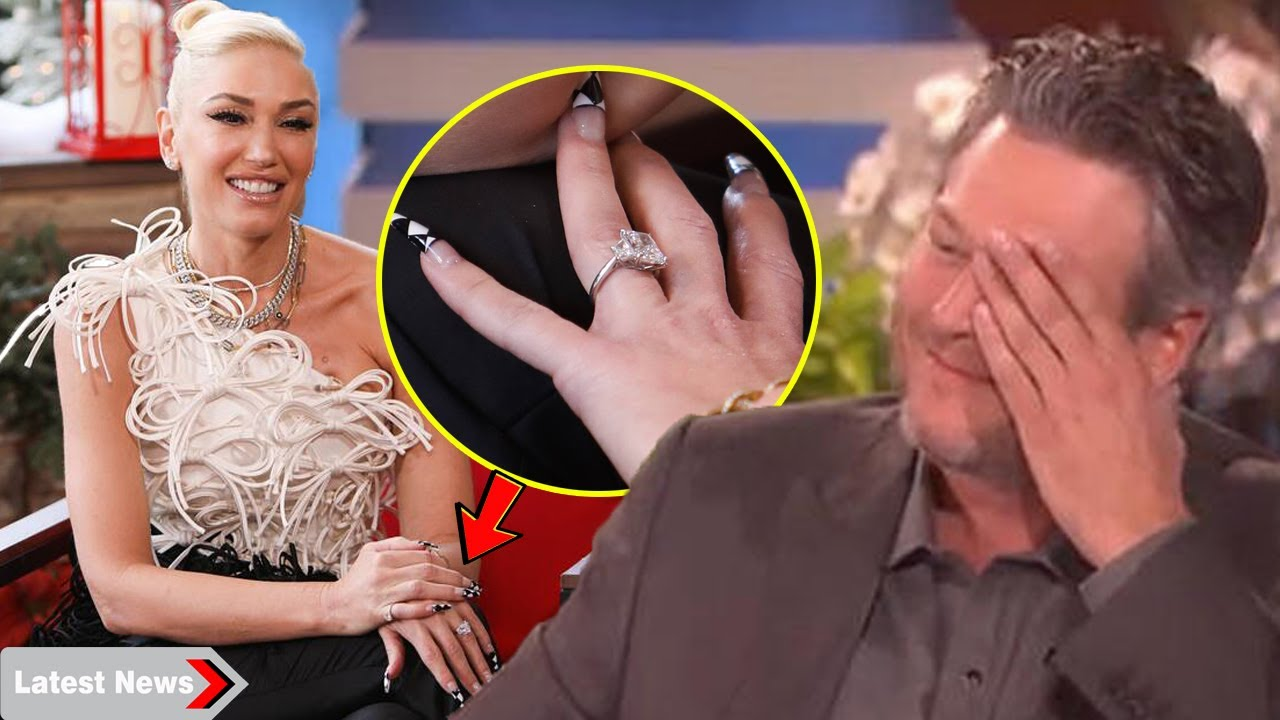 Blake Shelton Embarrassed by how Gwen Stefani flaunts their engagement ring and love