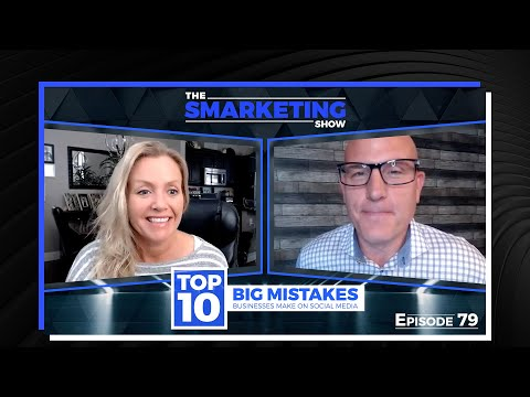TOP 10 BIG MISTAKES Businesses Make on Social Media - EP 79