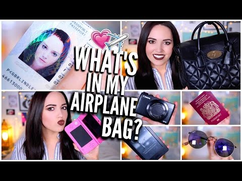 What's In My Airplane Bag/Carry-On?
