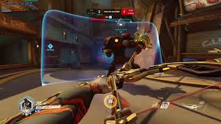 (PS4) Overwatch: Hanzo Popping Off | Grandmaster Competitive Gameplay *Hanzo Settings Included*