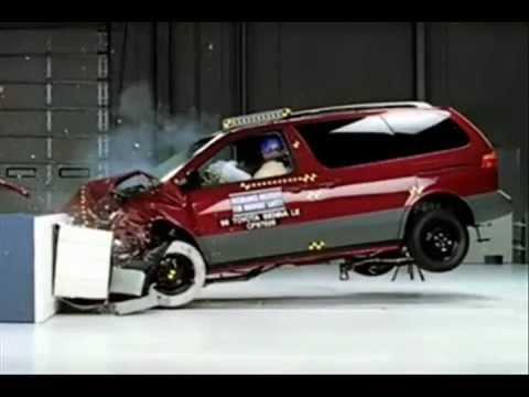 Toyota Sienna Crash Testwmv - 2001 sienna