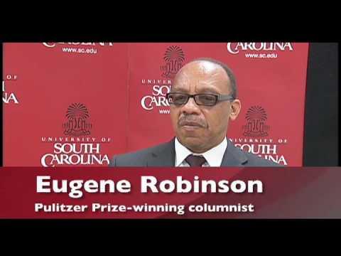Pulitzer Prize-winning columnist Eugene Robinson