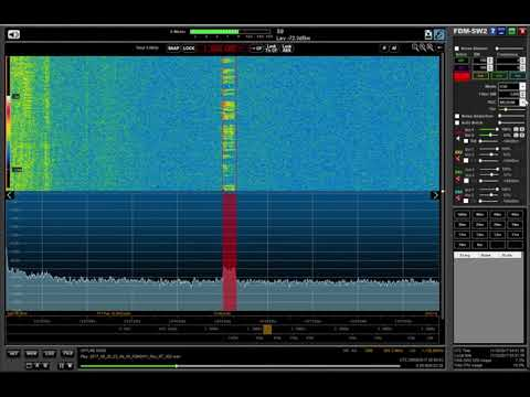 CROSS Corsen maritime station, Brest 1650 kHz with ID, heard in Oxford UK