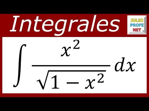 INTEGRACIÓN POR SUSTITUCIÓN TRIGONOMÉTRICA - Ejercicio 5