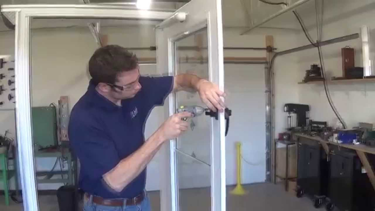 Wright Products Castellan Handle Installation Instructions