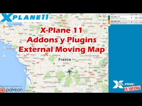 X-Plane 11 - Addons y Plugins - External Moving Map - YouTube