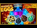 Minecraft - Magical Eggs in one command! | Guardian-Drills and more! | (Only One Command)
