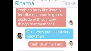 rihanna texts drake 🌟🤑💎💫