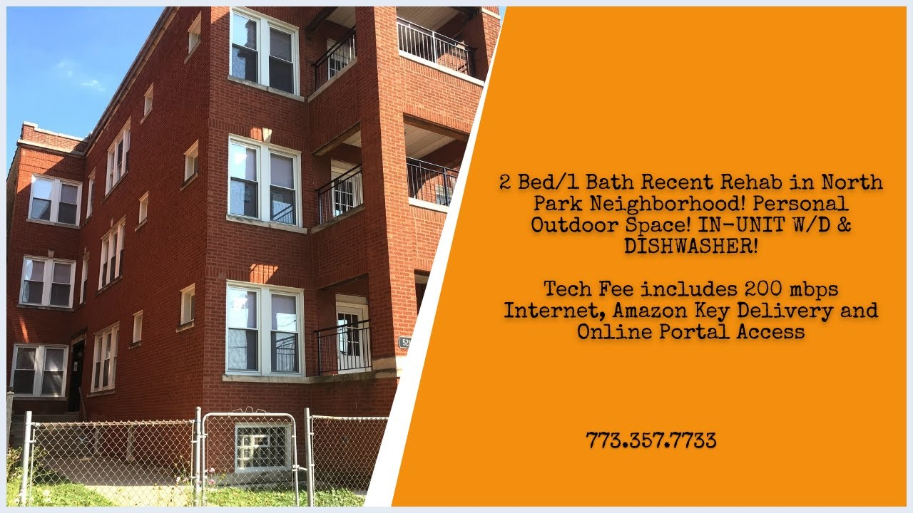 Large North Park Chicago 2 Bedroom Apartment!! - YouTube