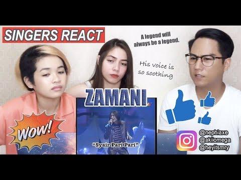 Zamani-Syair Pari Pari-Separuh Akhir Muzik Muzik Balada 2002 [SINGERS REACT]