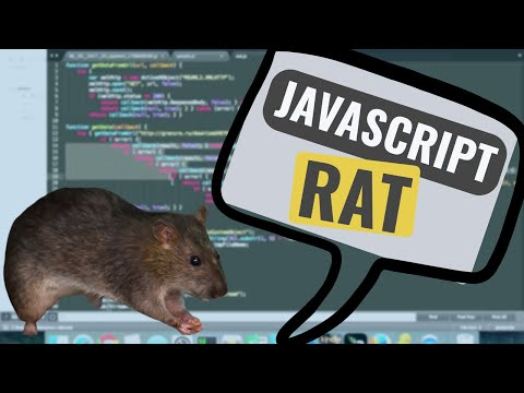 JavaScript that drops a RAT - Reverse Engineer it like a pro