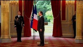 François Hollande officiellement investi président de la République