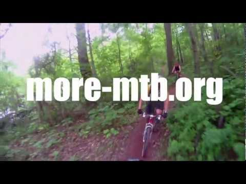 MORE=Mid Atlantic Off Road Enthusiasts (riding mountain bikes and building trails since 1992)
