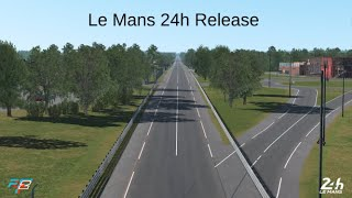 rFactor 2 - First Lap at the official rFactor 2 Le Mans 24 Heures du Mans track