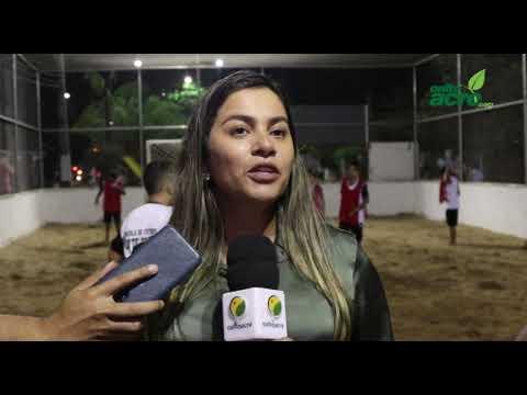 Reinauguração da Praça do Bairro Três Botequins - Brasiléia/Acre