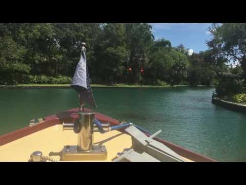 Sapphire Falls water taxi POV at Universal Orlando