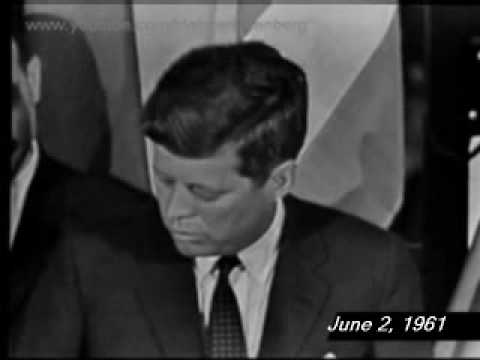 President John F. Kennedy's 12th News Conference, June 2, 1961 in Paris