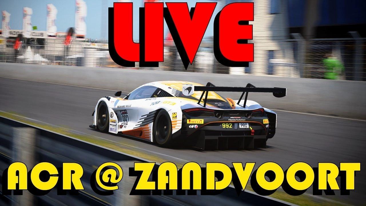ACC LIVE | ACR @ ZANDVOORT | Practice before a double race | 480p intensifies :D