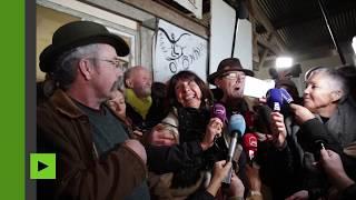 Les militants de la ZAD saluent l'abandon du projet d'aéroport de Notre-Dame-des-Landes