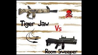 Fortnite 2018 | 3 Star Leg Tigerjaw vs 3 Star Leg Roomsweeper Part 1 of 3